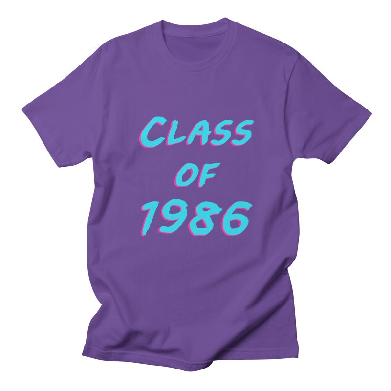 Class Of 1986: Font Women's Regular Unisex T-Shirt by The Glitchway