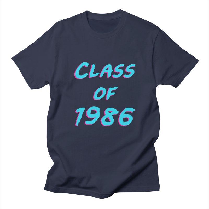 Class Of 1986: Font Men's Regular T-Shirt by The Glitchway