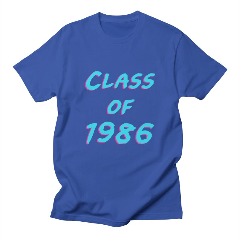 Class Of 1986: Font Women's Unisex T-Shirt by Glitchway Store