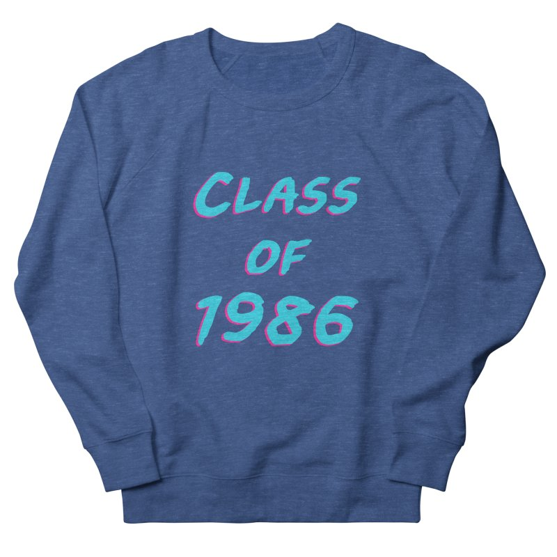 Class Of 1986: Font Men's Sweatshirt by The Glitchway