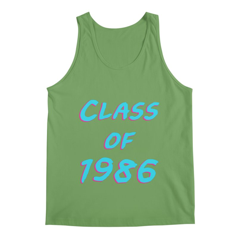 Class Of 1986: Font Men's Tank by The Glitchway