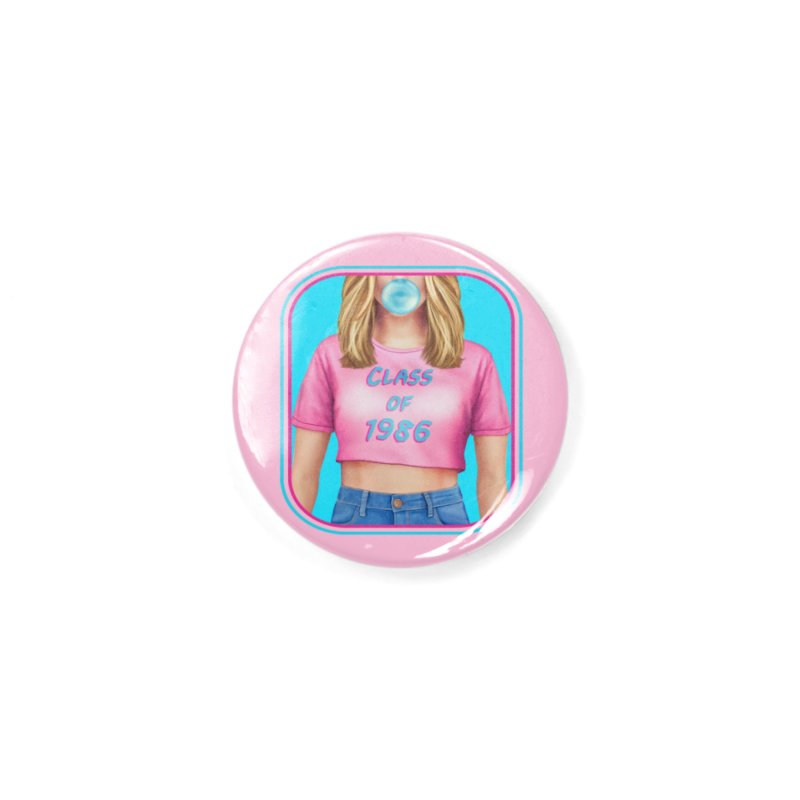 Class Of 1986 Accessories Button by The Glitchway