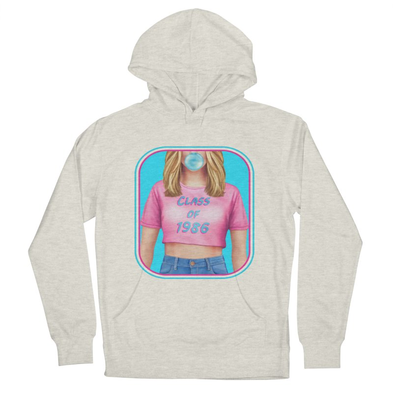 Class Of 1986 Women's French Terry Pullover Hoody by The Glitchway