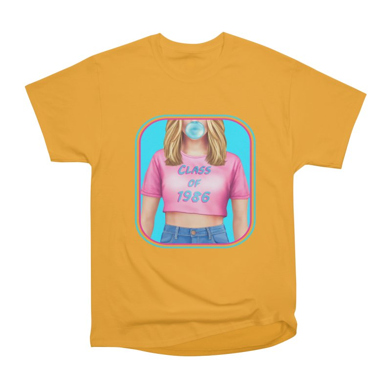 Class Of 1986 Women's Heavyweight Unisex T-Shirt by The Glitchway