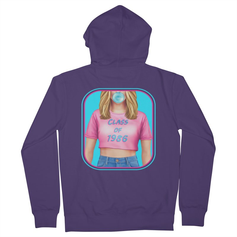 Class Of 1986 Women's Zip-Up Hoody by The Glitchway
