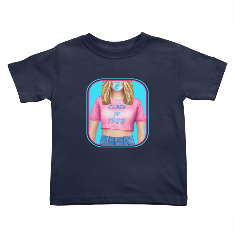 Class Of 1986 Kids Toddler T-Shirt by The Glitchway
