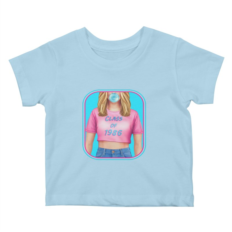 Class Of 1986 Kids Baby T-Shirt by The Glitchway