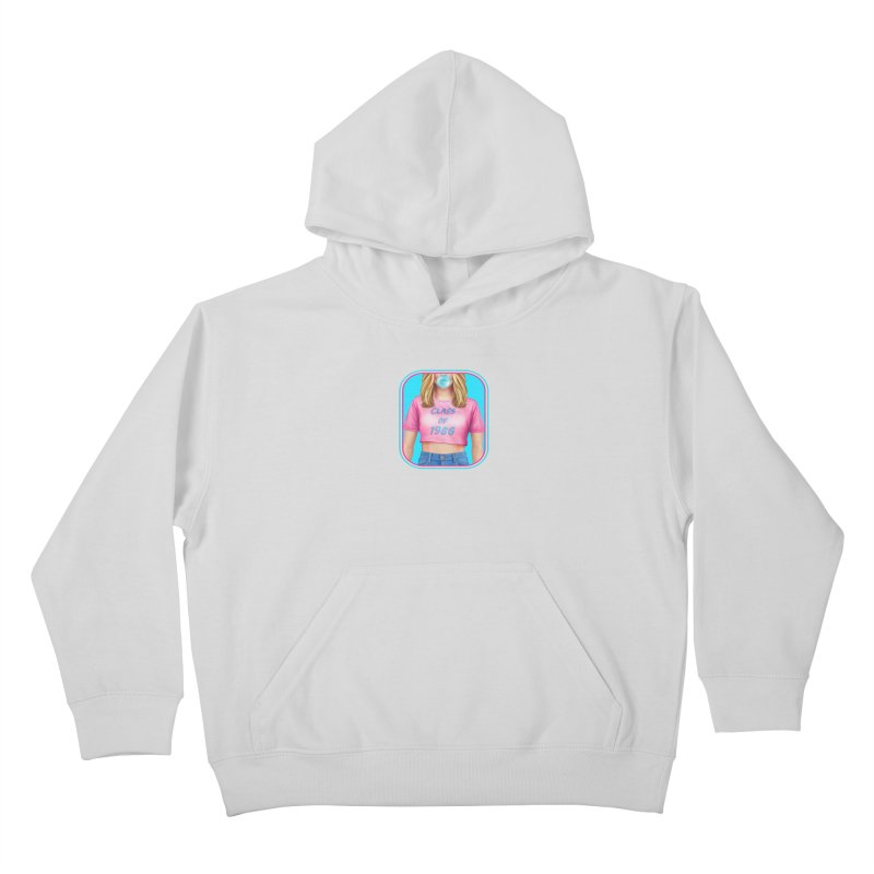 Class Of 1986 Kids Pullover Hoody by The Glitchway