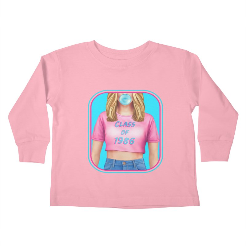 Class Of 1986 Kids Toddler Longsleeve T-Shirt by Glitchway Store