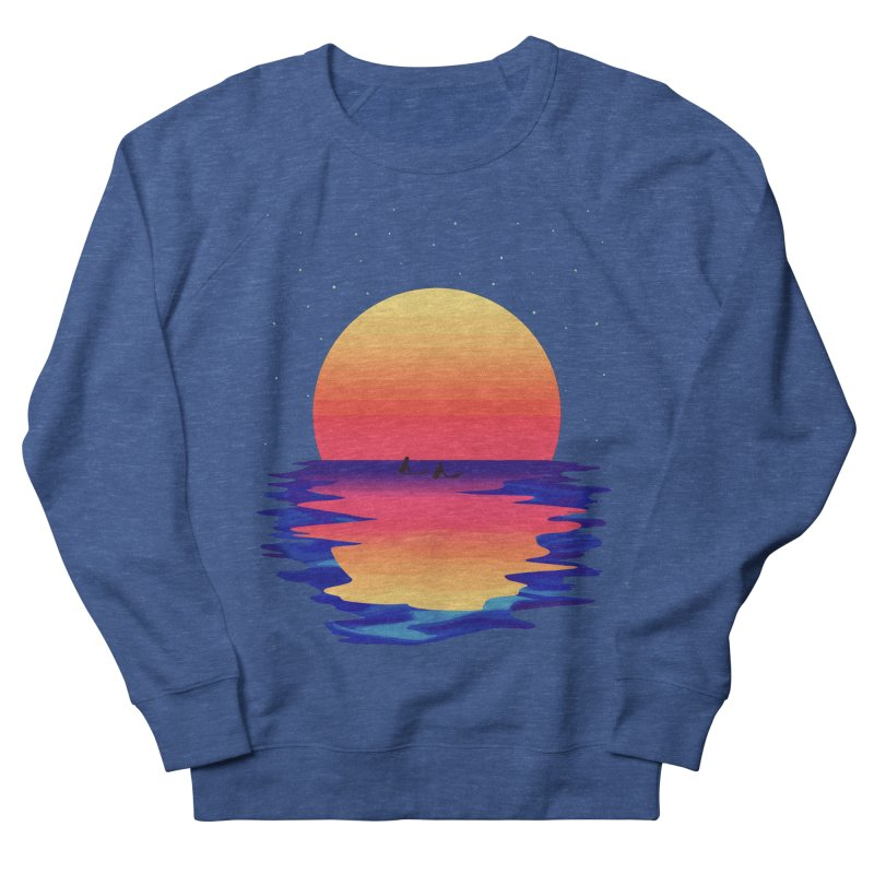 Ocean Dreams Women's French Terry Sweatshirt by The Glitchway