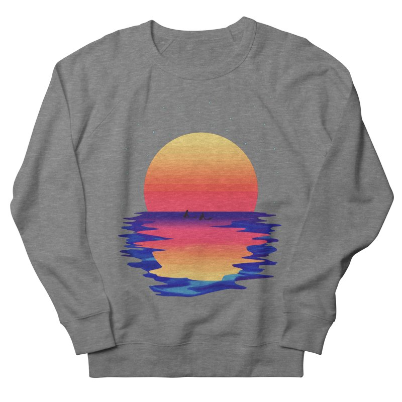 Ocean Dreams Men's French Terry Sweatshirt by The Glitchway