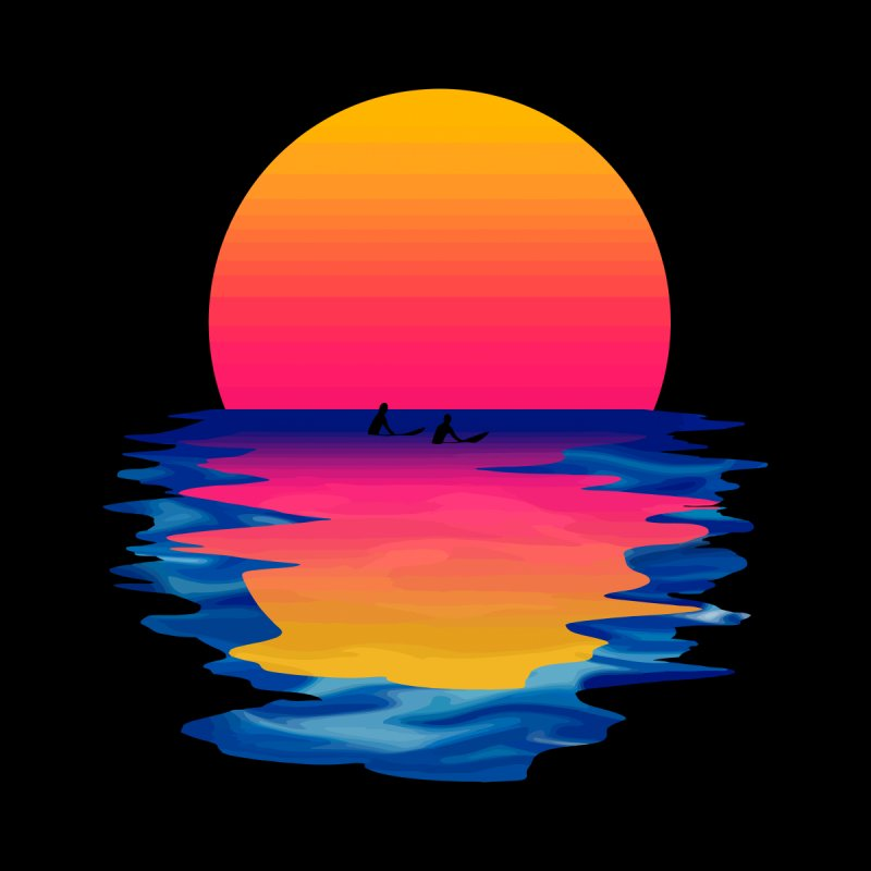 Ocean Dreams None  by Glitchway Store