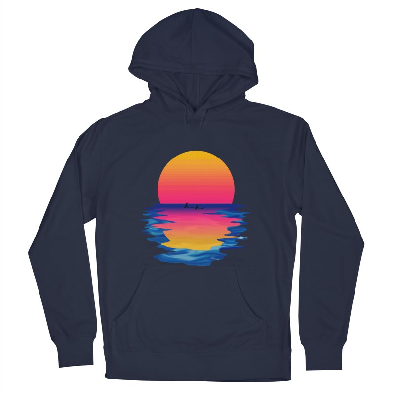 Ocean Dreams Women's Pullover Hoody by Glitchway Store