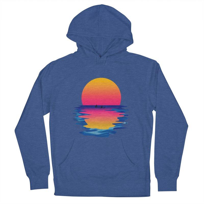 Ocean Dreams Men's Pullover Hoody by Glitchway Store