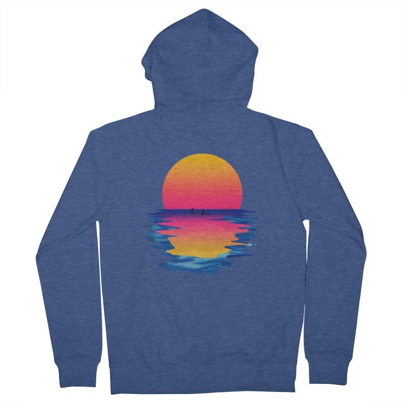 Ocean Dreams Women's Zip-Up Hoody by Glitchway Store
