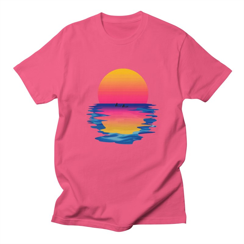 Ocean Dreams Men's T-Shirt by Glitchway Store