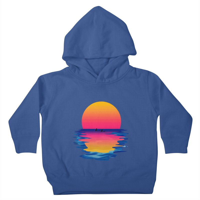 Ocean Dreams Kids Toddler Pullover Hoody by Glitchway Store