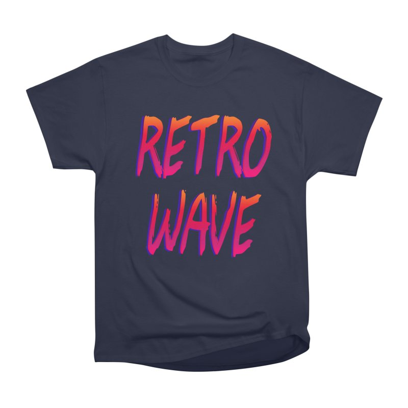 Retrowave Women's Classic Unisex T-Shirt by Glitchway Store