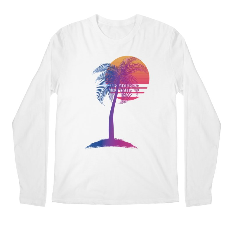 Sunset Dreams Men's Longsleeve T-Shirt by Glitchway Store