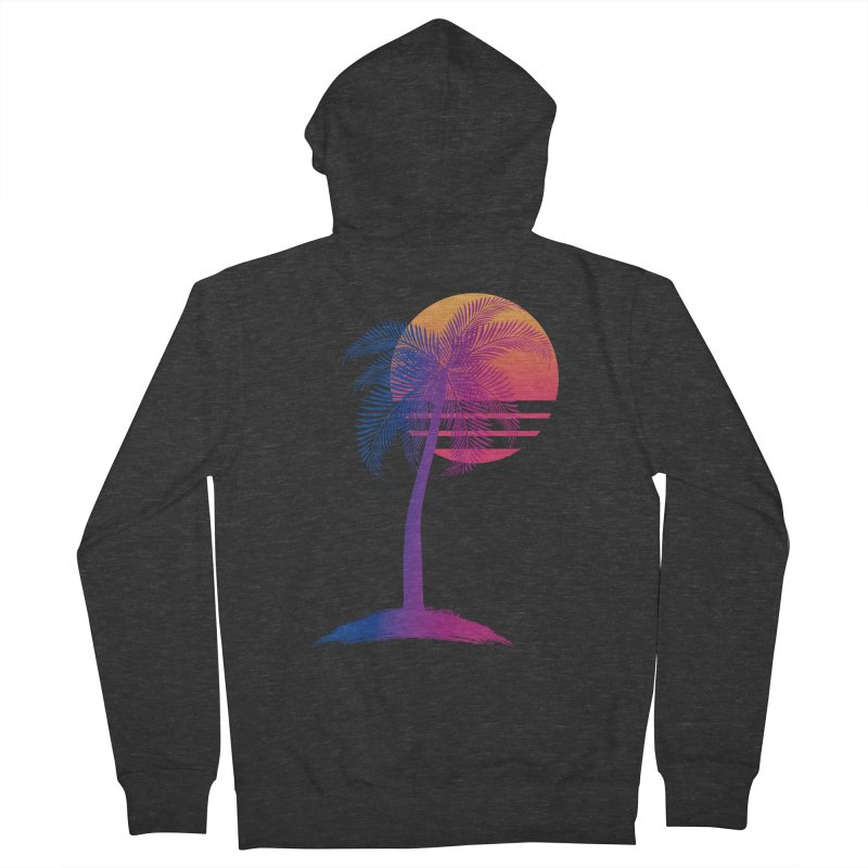 Sunset Dreams Women's Zip-Up Hoody by Glitchway Store
