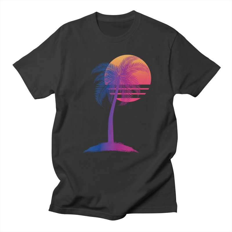 Sunset Dreams Men's T-Shirt by The Glitchway