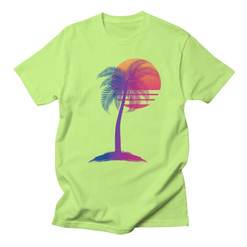 Sunset Dreams Women's Unisex T-Shirt by Glitchway Store