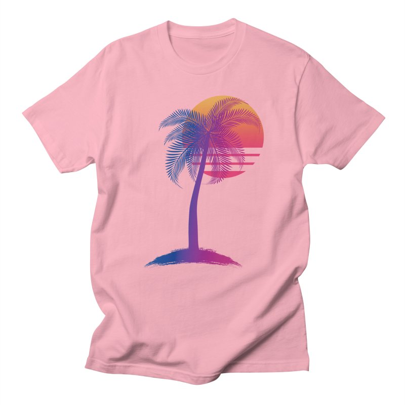 Sunset Dreams Men's Regular T-Shirt by The Glitchway