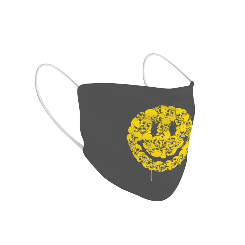 Keep smiling Accessories Face Mask by glitchygorilla's Artist Shop