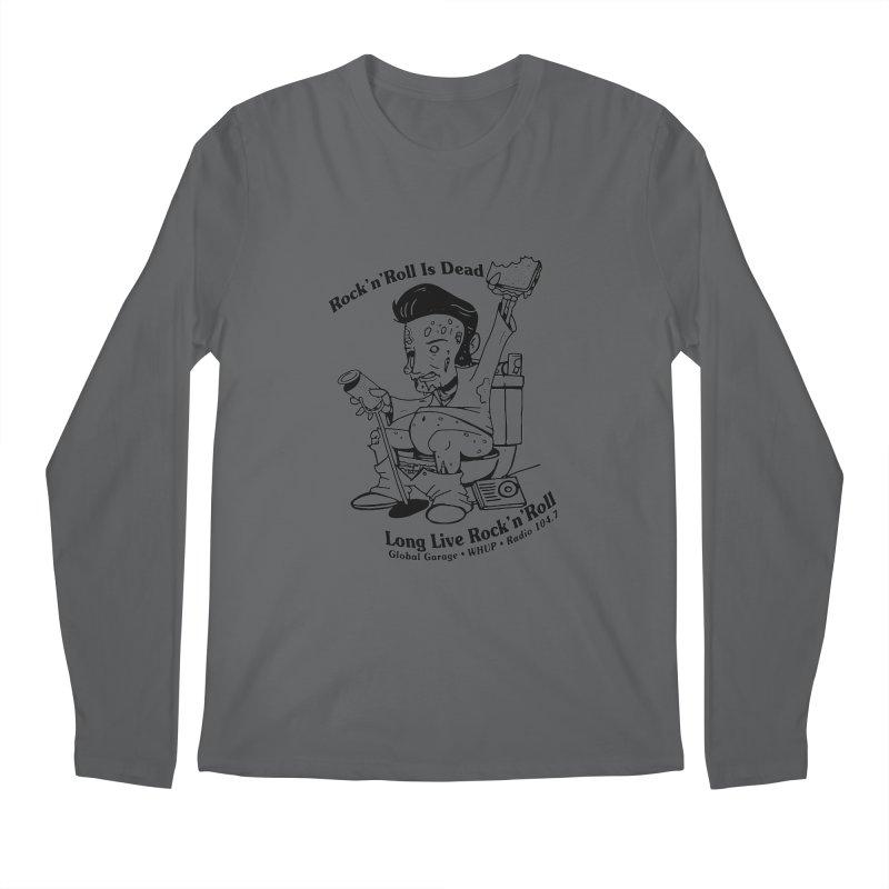 Global Garage Zombie Elvis Men's Longsleeve T-Shirt by Global Garage