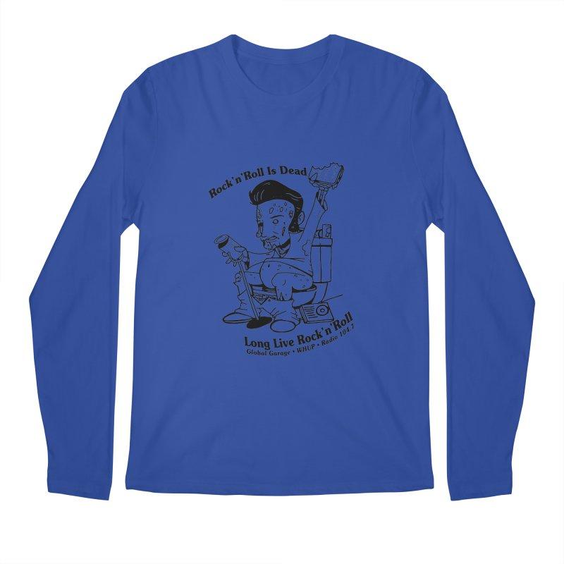 Global Garage Zombie Elvis Men's Regular Longsleeve T-Shirt by Global Garage