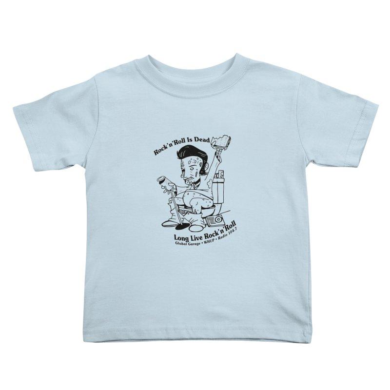Global Garage Zombie Elvis Kids Toddler T-Shirt by Global Garage