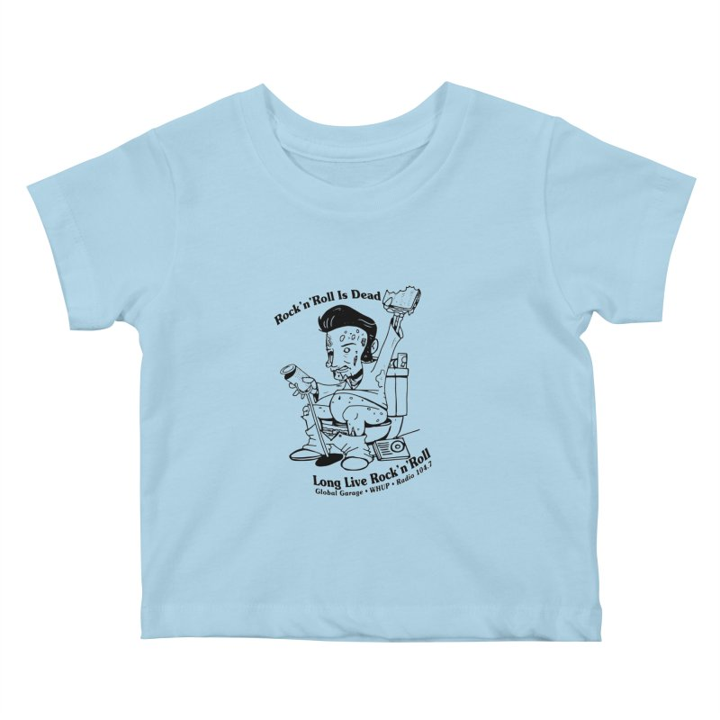 Global Garage Zombie Elvis Kids Baby T-Shirt by Global Garage