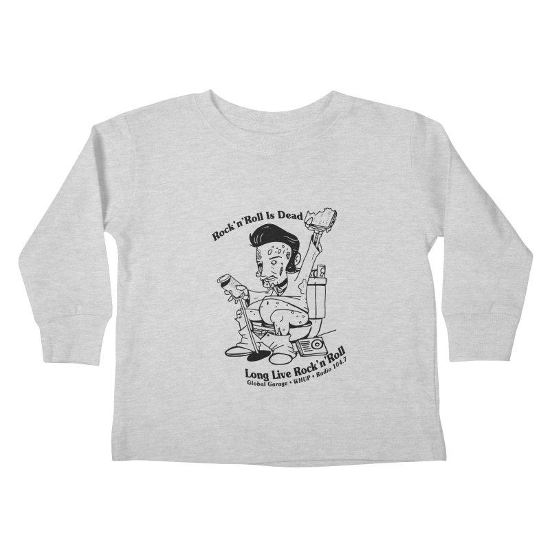 Global Garage Zombie Elvis Kids Toddler Longsleeve T-Shirt by Global Garage