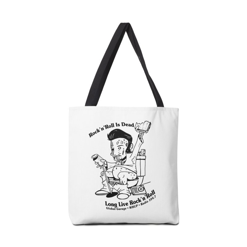 Global Garage Zombie Elvis Accessories Tote Bag Bag by Global Garage