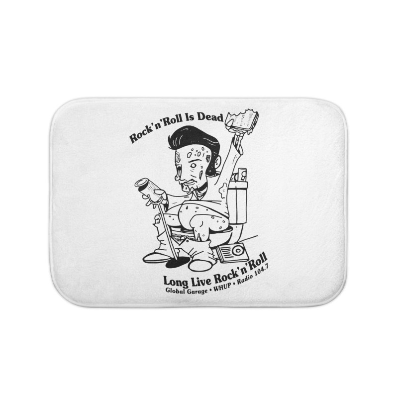 Global Garage Zombie Elvis Home Bath Mat by Global Garage