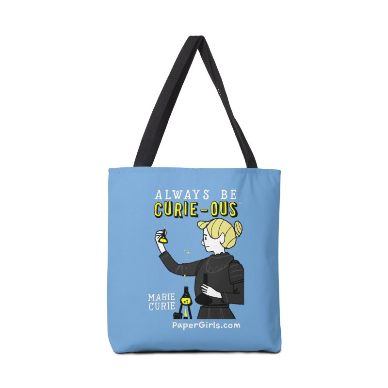 'The Paper Girls Show' Always Be Curie-ous™ Product Line Accessories Bag by Global Tinker's Company Shop