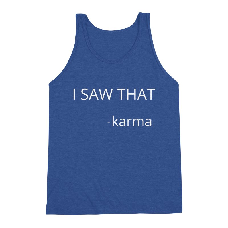 Karma Sees Everything Men's Tank by Glow-Getters Store