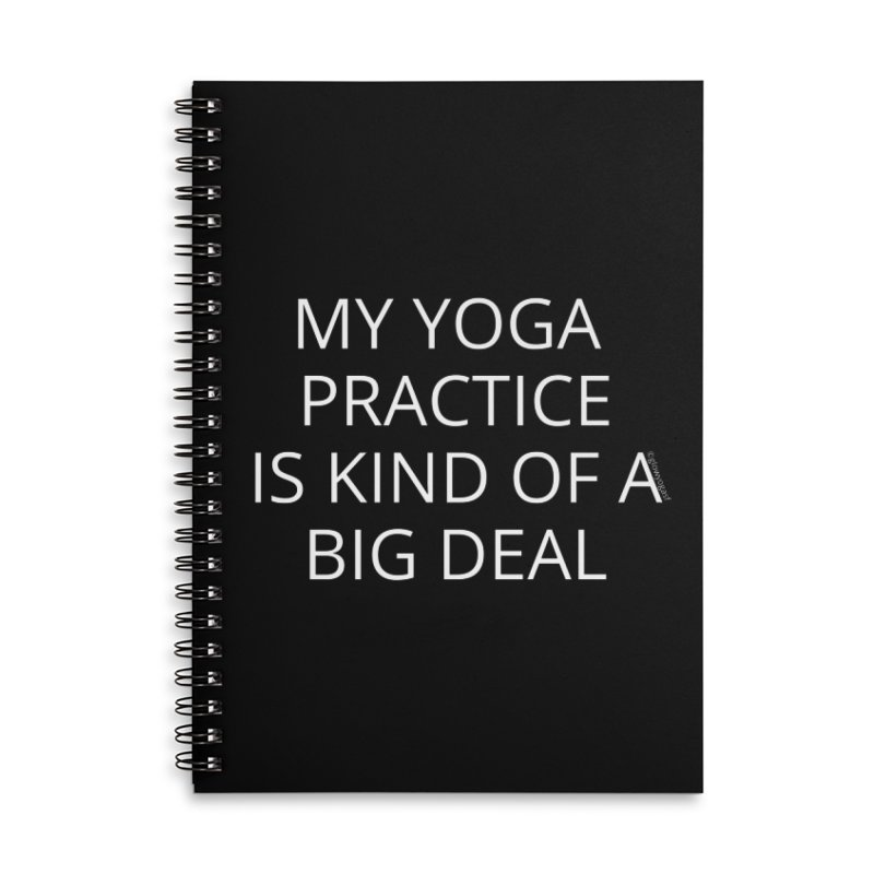 Kind Of a Big Deal Accessories Notebook by Glow-Getters Store
