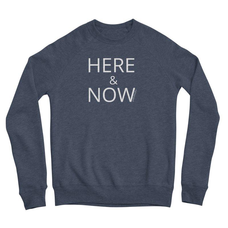 Here and Now Women's Sponge Fleece Sweatshirt by Glow-Getters Store
