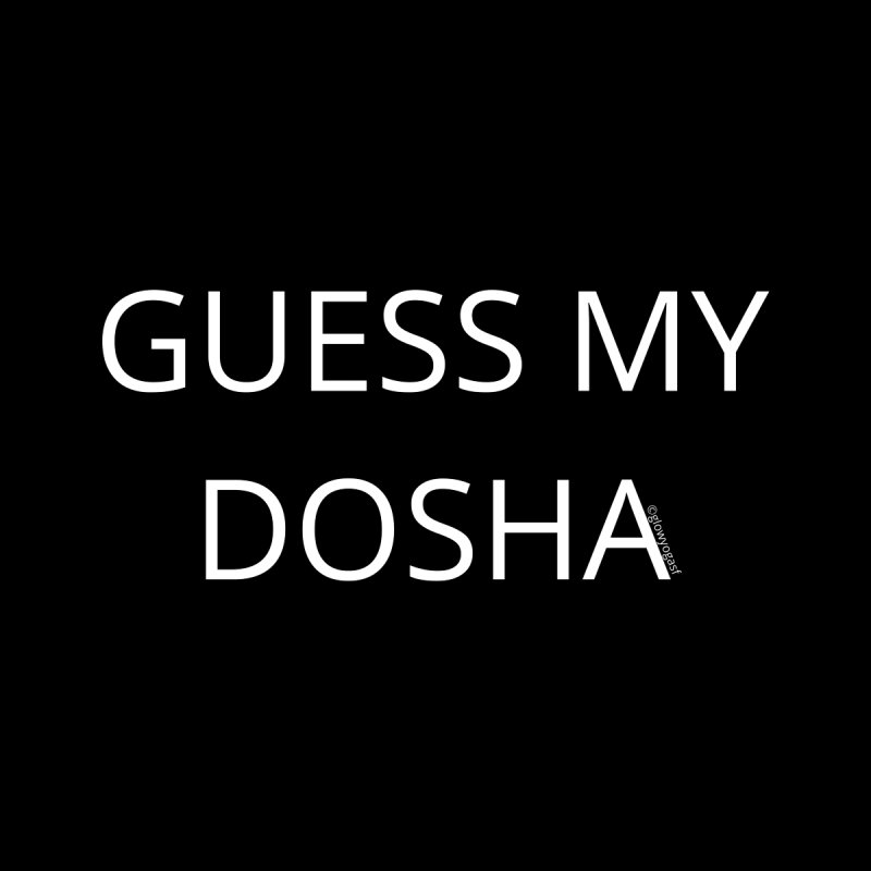 Guess My Dosha Accessories Bag by Glow-Getters Store