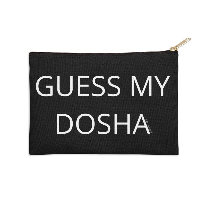 Guess My Dosha Accessories Zip Pouch by Glow-Getters Store