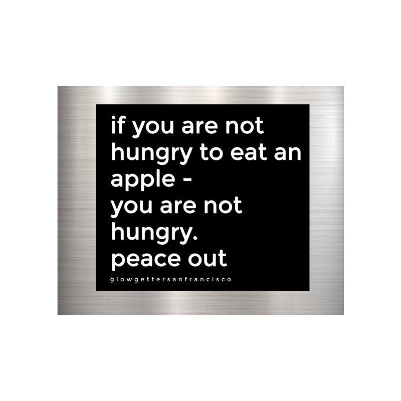 Fridge Magnet - Peace Out Accessories Magnet by Glow-Getters Store