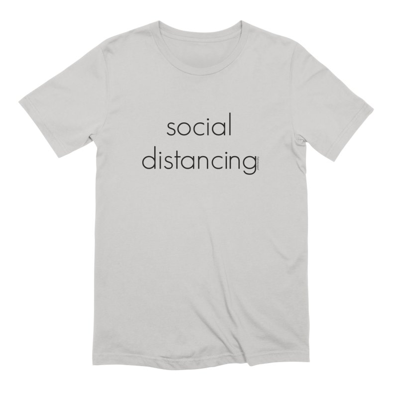 Social Distancing B Men's T-Shirt by Glow-Getters Store