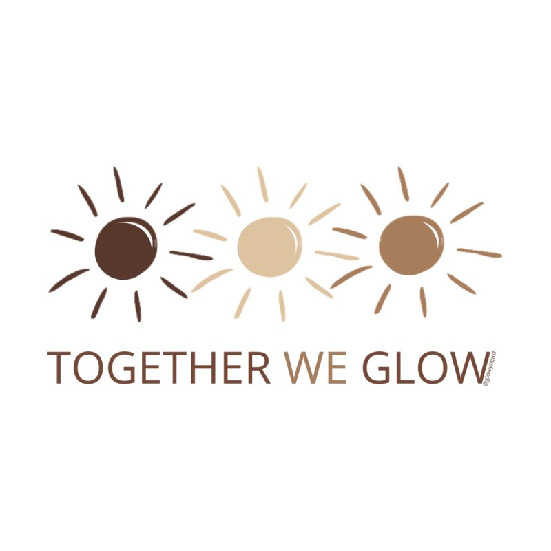 Together We Glow Women's Tank by Glow-Getters Store
