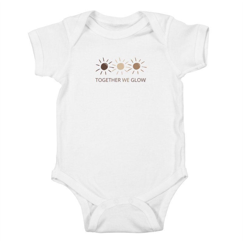 Together We Glow Kids Baby Bodysuit by Glow-Getters Store