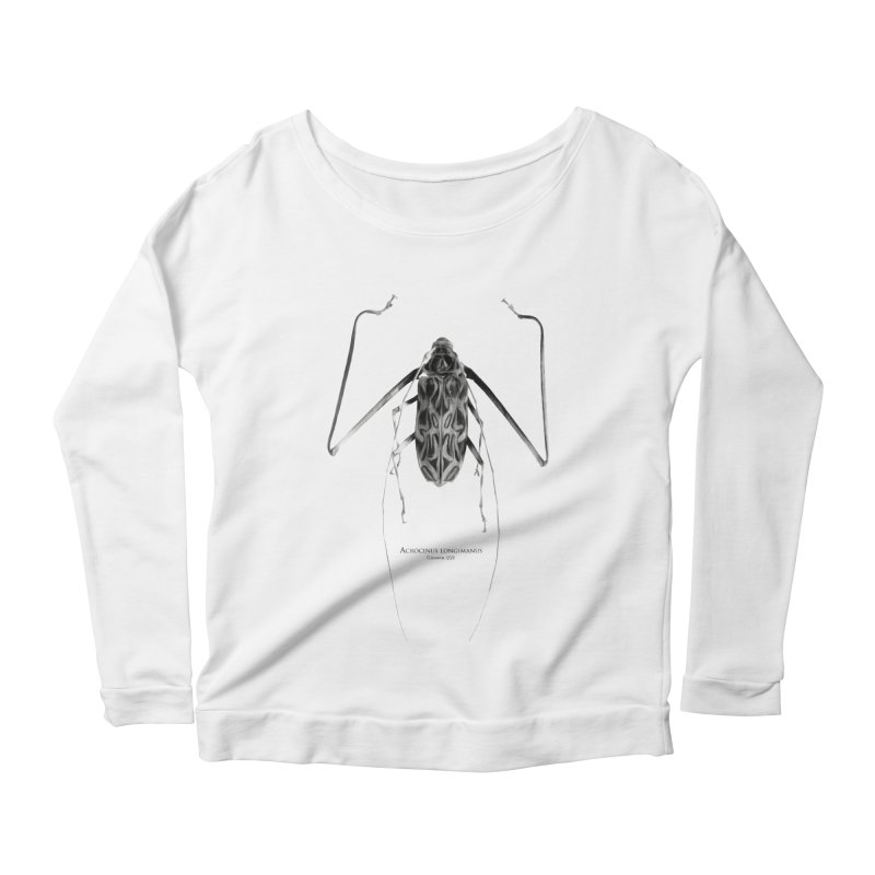 Acrocinus I Women's Scoop Neck Longsleeve T-Shirt by Gerónimo Martín Alonso Photography