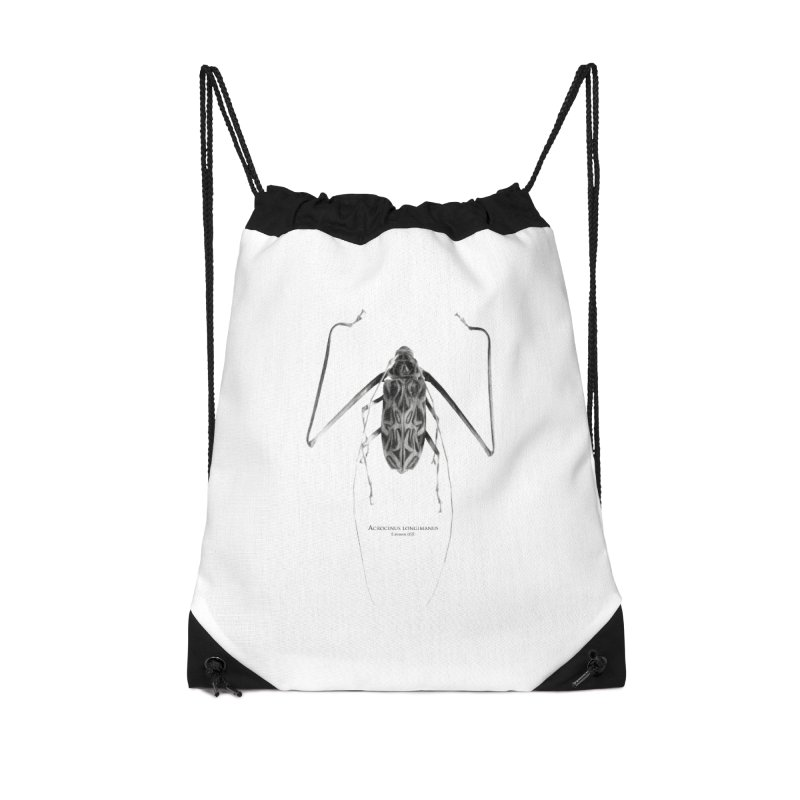 Acrocinus I Accessories Drawstring Bag Bag by Gerónimo Martín Alonso Photography