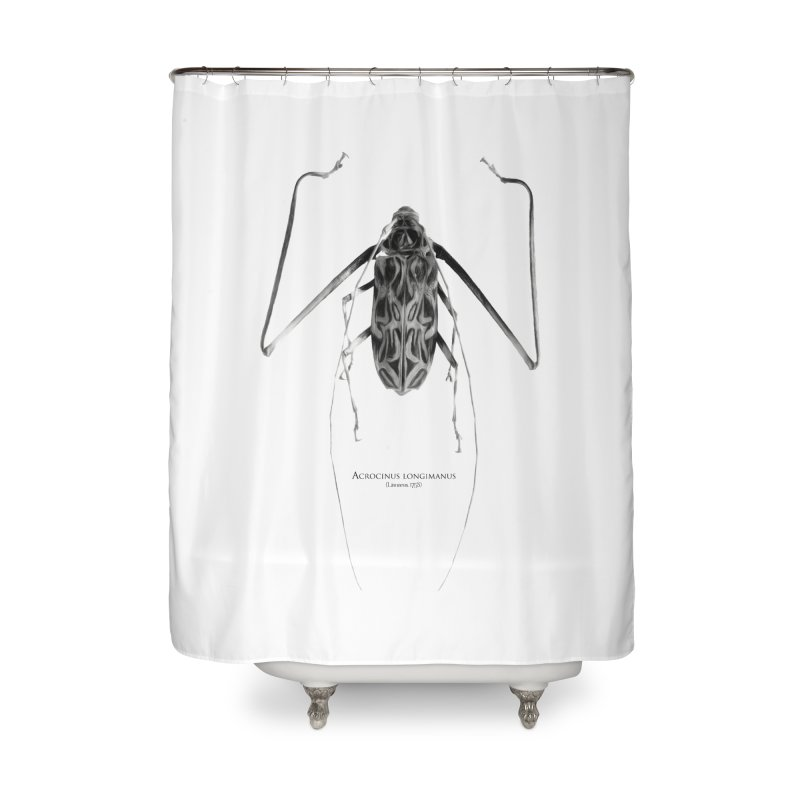 Acrocinus I Home Shower Curtain by Gerónimo Martín Alonso Photography