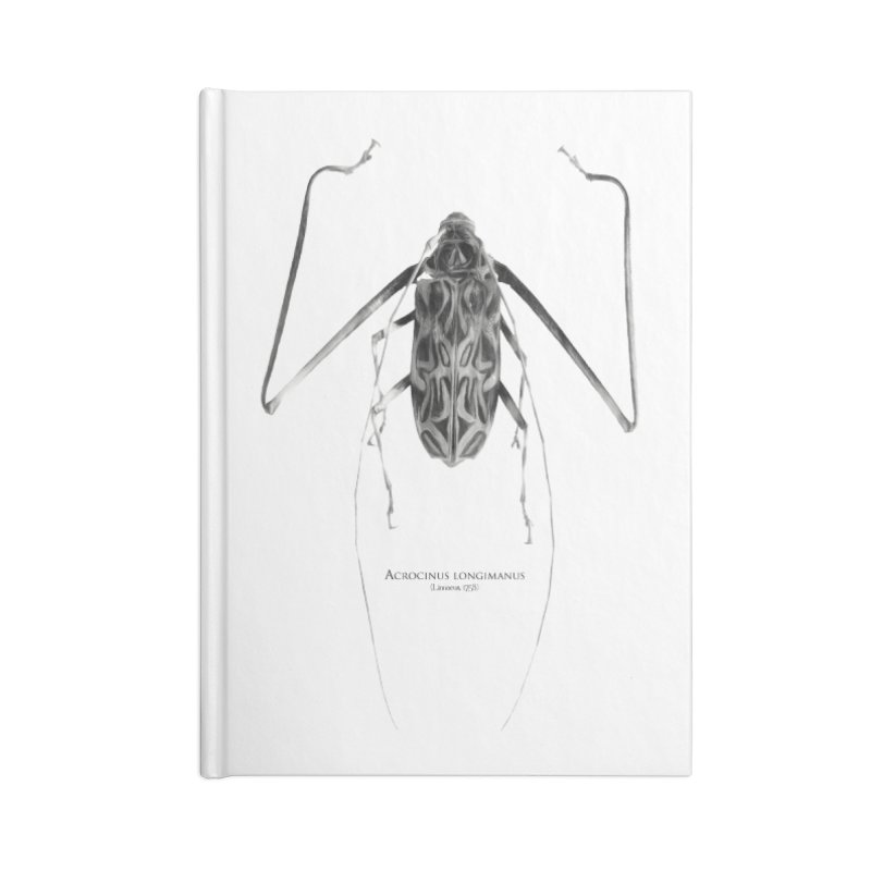 Acrocinus I Accessories Lined Journal Notebook by Gerónimo Martín Alonso Photography