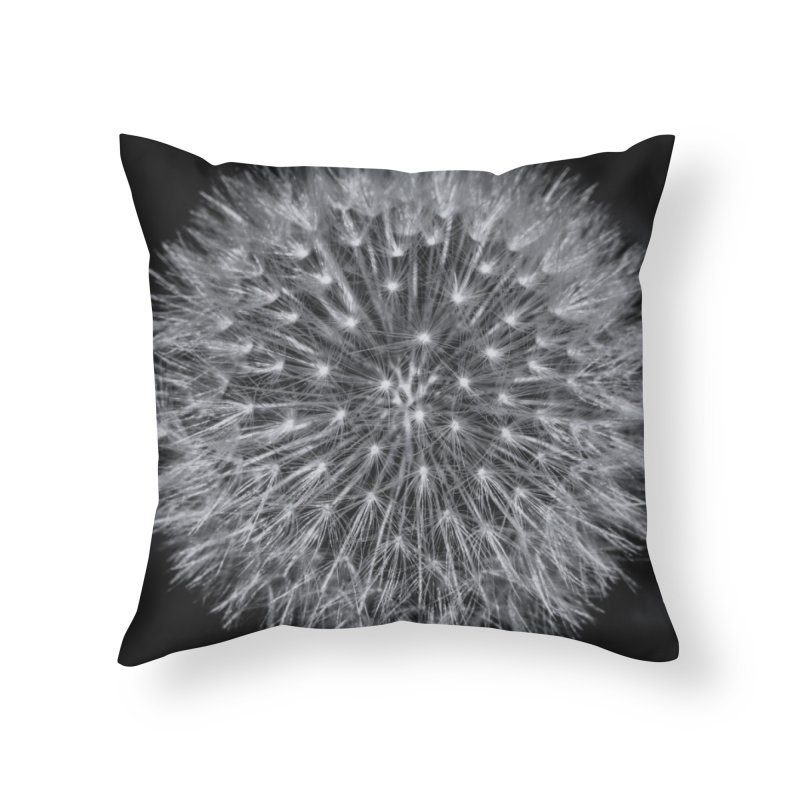 Dandelion Home Throw Pillow by Gerónimo Martín Alonso Photography